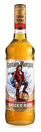 Medium Of Carbs In Captain Morgan