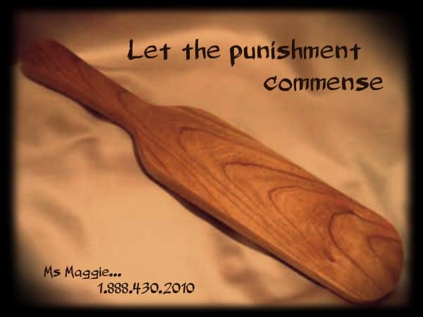 Punishment  Punishment  punishment paddle with mommy maggie