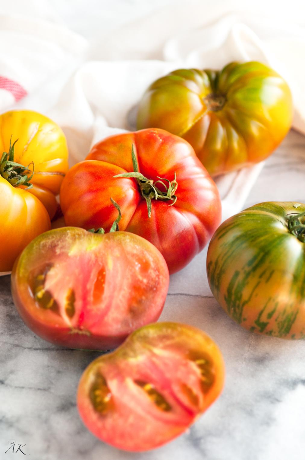 Roasted Heirloom Tomato and Goat Cheese Bruschetta - Aberdeen's ...