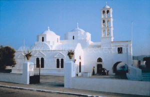 Milos churches, Greece