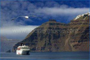 Santorini history Greece