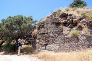 ancient Klima on Milos, Greece