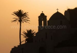 Ios churches Greece