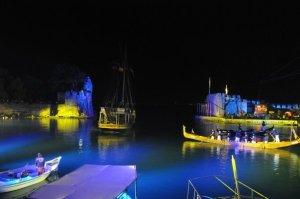 Nafpaktos port, Greece