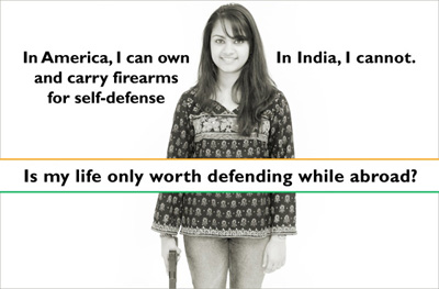 Is my life not worth defending in India