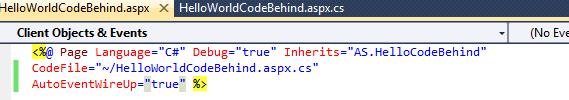 ASP.NET Event Handling