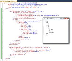 WPF XML Namespaces