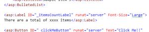 Web Controls ASP.NET