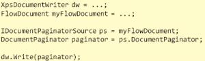 WPF Document Paginator