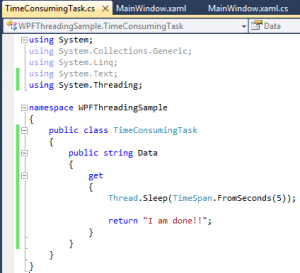 WPF Async Work