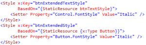 WPF Extending Styles