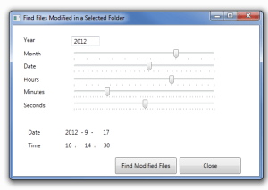 ModifiedFilesFinder 1.0