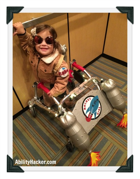 Rocket Girl Costume for Posterior Walker