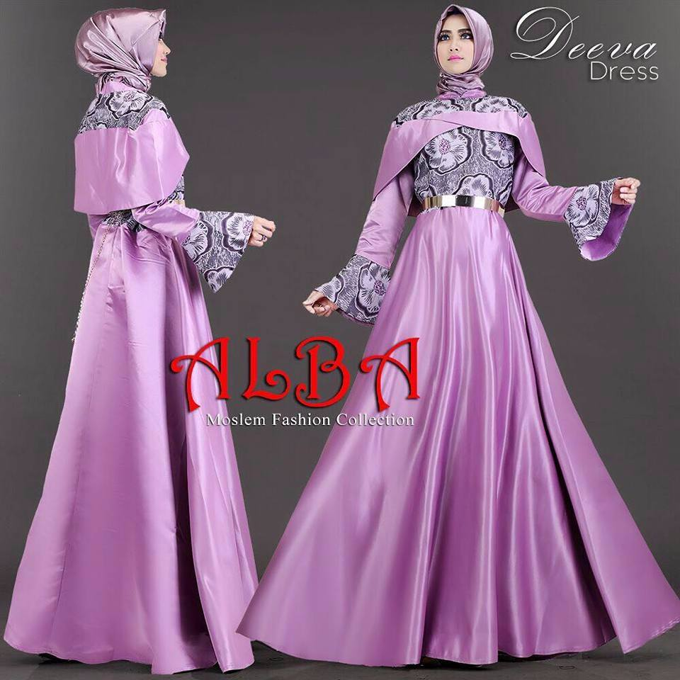 baju muslim terbaru deeva dress by alba