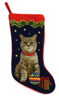 Sturdy Larger Image If Available Cat Stockings Cat Stocking Photo Insert Cat Stocking Stuffers Click On Photo
