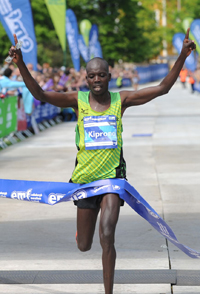 Winner 2016 Edinburgh Marathon, Kiprono