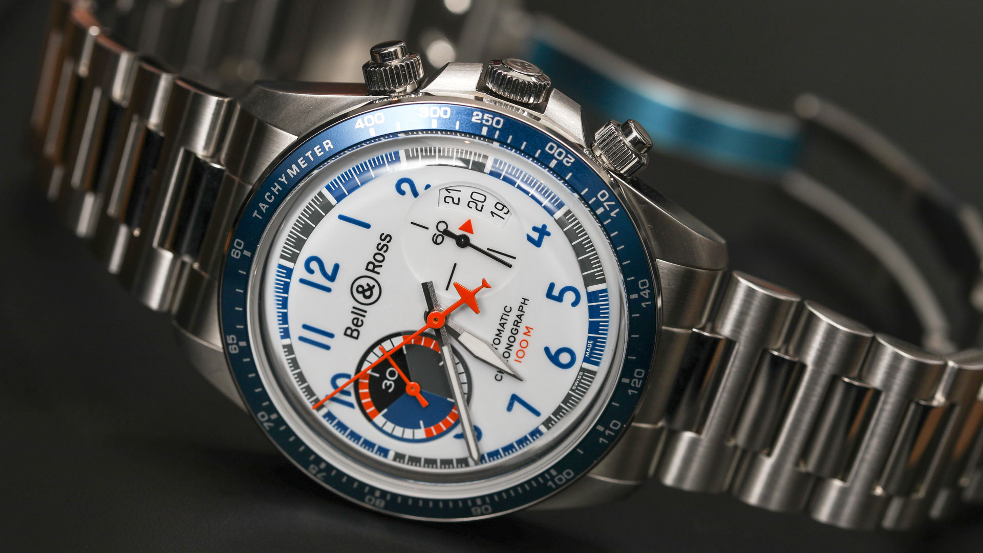 Bell Ross BR V2-94 Racing Bird Chronograph Is A Tribute To Future Race Planes