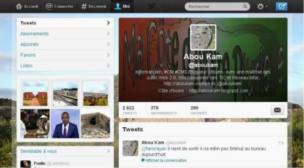 Comment twitter par un simple SMS en Côte d'Ivoire ou en Afrique?