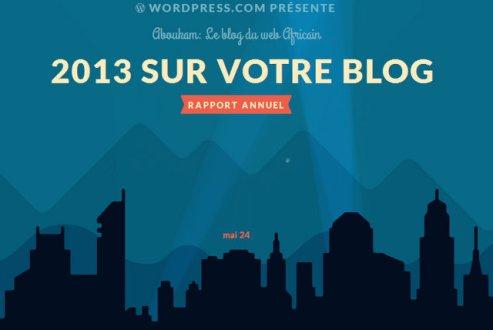 Le meilleur sur votre blog en 2013
