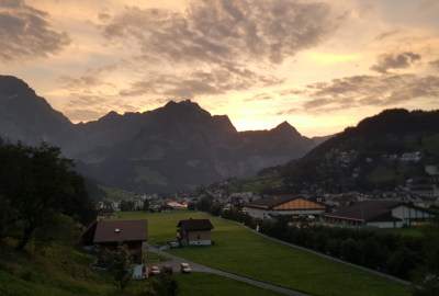 Sunset-Engelberg-Switzerland
