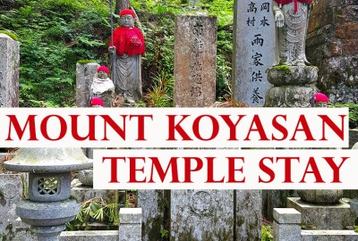 Mount Koyasan Temple Stay in Japan