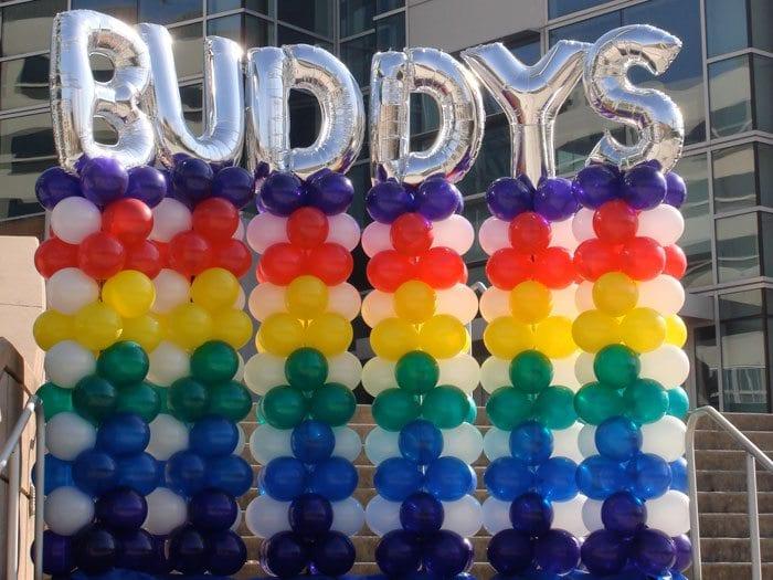 Balloon Column Knoxville Balloon Column Entrance