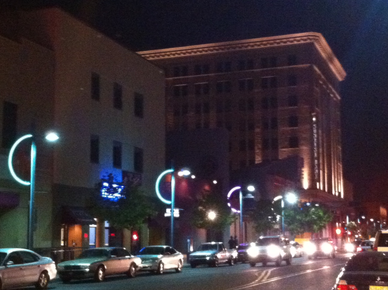 The lights feature LED neon which provides energy efficiency longer life than traditional neon lighting and color changing ability. & LED Neon Lighting | Downtown Albuquerque MainStreet azcodes.com