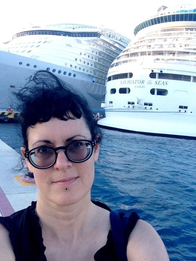 royal caribbean ship selfie