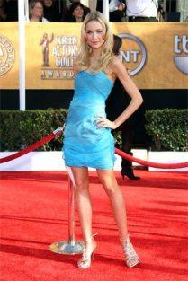 Katrina Bowden en la alfombra roja