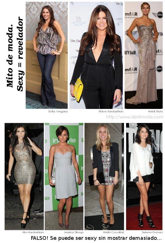 """Sección """"Mitos de moda"""" en el blog ABRIL Moda."""