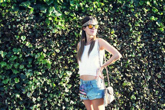 Look de verano con inspiración hippie