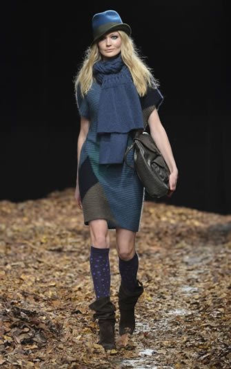 Vestido tejido colección otoño invierno 2013