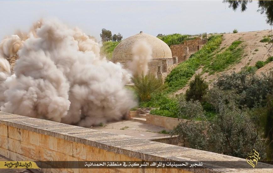 destruction of Mar Behnam