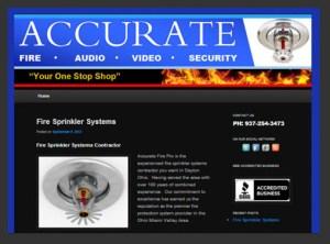 Fire Sprinkler Systems Dayton Ohio