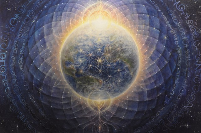 The Rapidly Shifting Frequency Organization on Earth ~ Peter Borys Jr. Flower-of-Life-Gaia