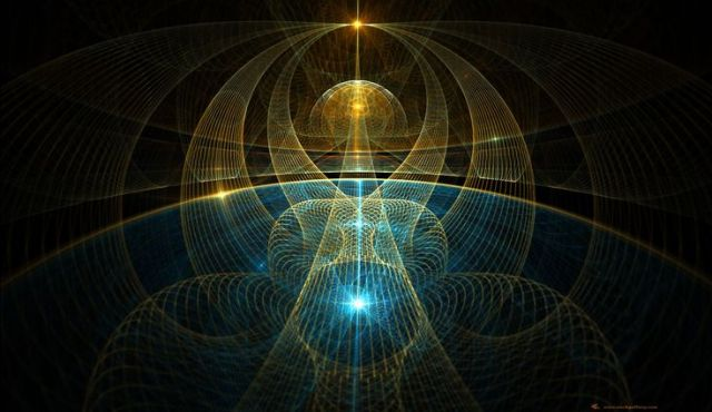 The Decryption of the Enigma of the Existence of God  Fractal-light-source