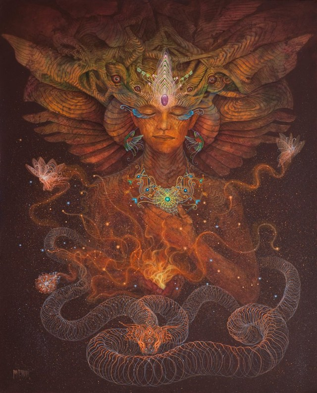 The Modern Shaman: Fierce Love at the Frontier of Madness Luis-Tamani_serpent-visions