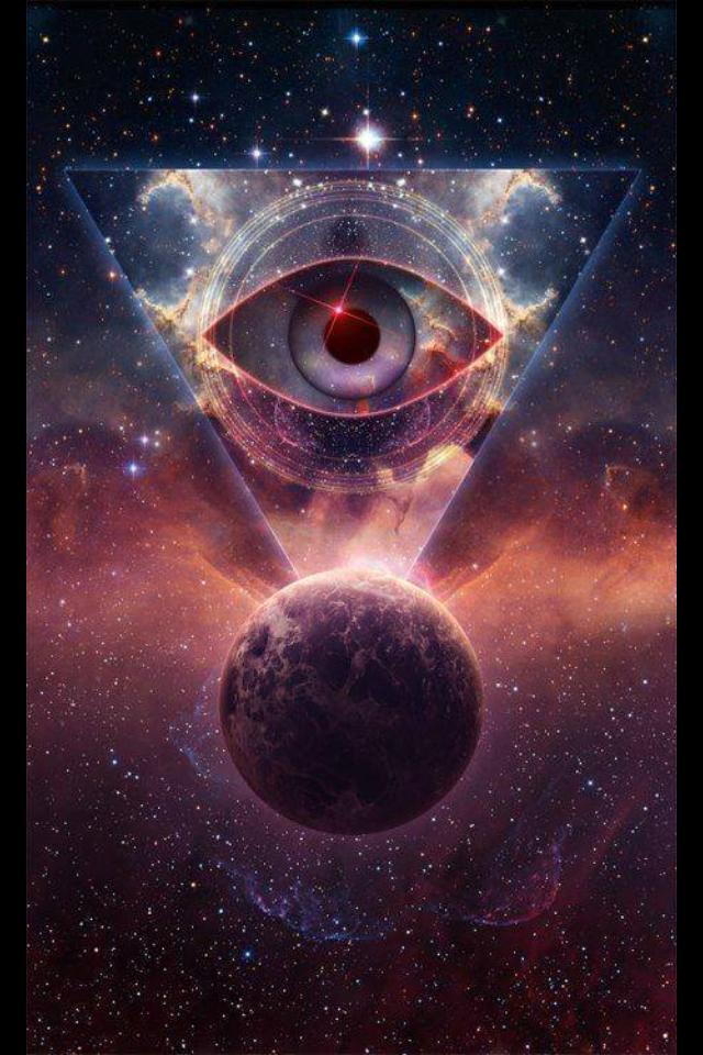 Cosmic Eye Triangle
