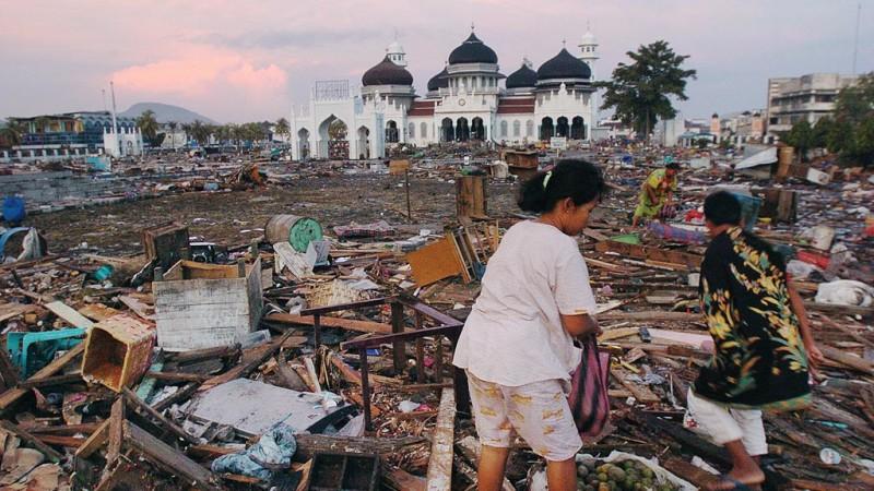 Masjidd Baiturrahman selamat dari terjangan tsunami