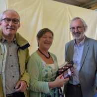 Prijs burgemeester Luc De Ryck: als verdienstelijke leerling in het 4de jaar hogere graad atelier textiele kunst: Miek Van De Perre