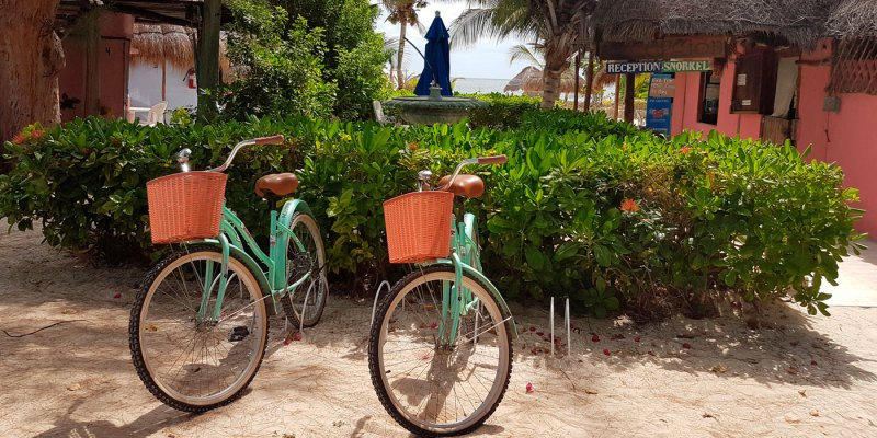 Puerto Morelos Bike Rental with Acamaya Reef