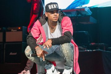 Standoff at Chris Brown's headlined show