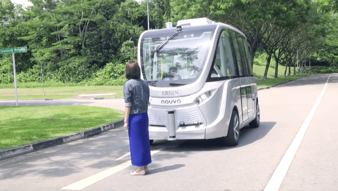 We Need This Self Driving Bus As a Lagos Danfo