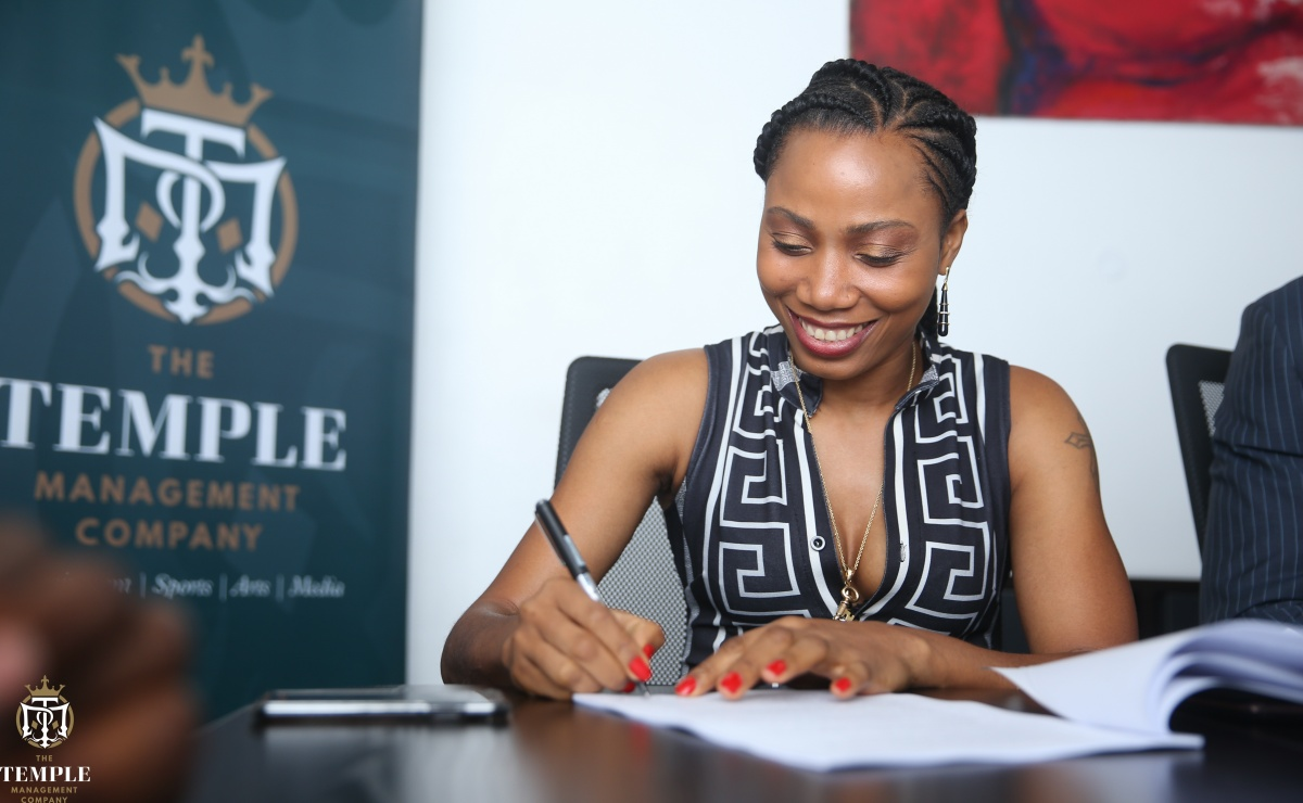 Ebi Onome Signs With Temple
