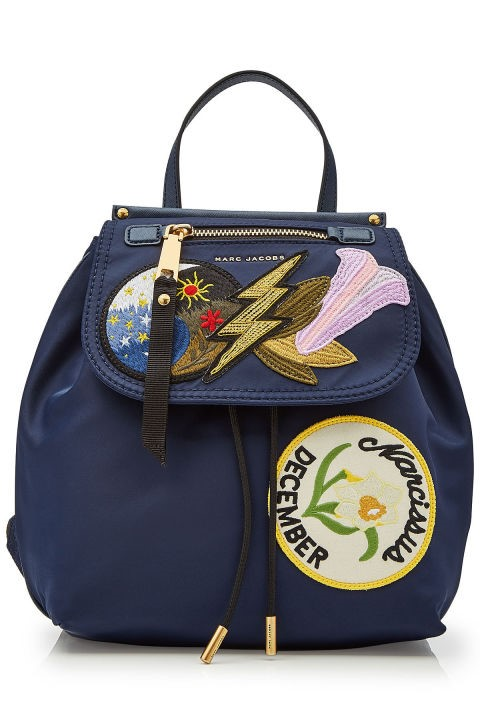 Marc Jacobs Fabrics Backpack with Patches