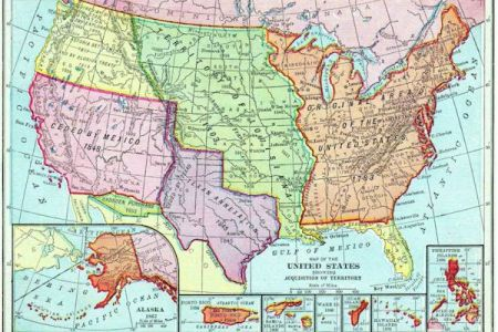 map of the territories of the united states by acquisition
