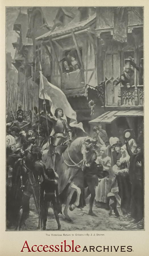 The Victorious Return to Orleans by J. J. Sherrer