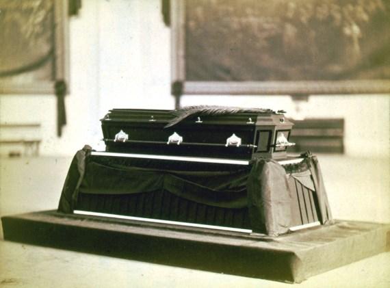 President James A. Garfield's Casket