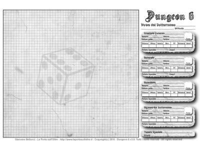 Foglio Dungeon - Miniatura Web