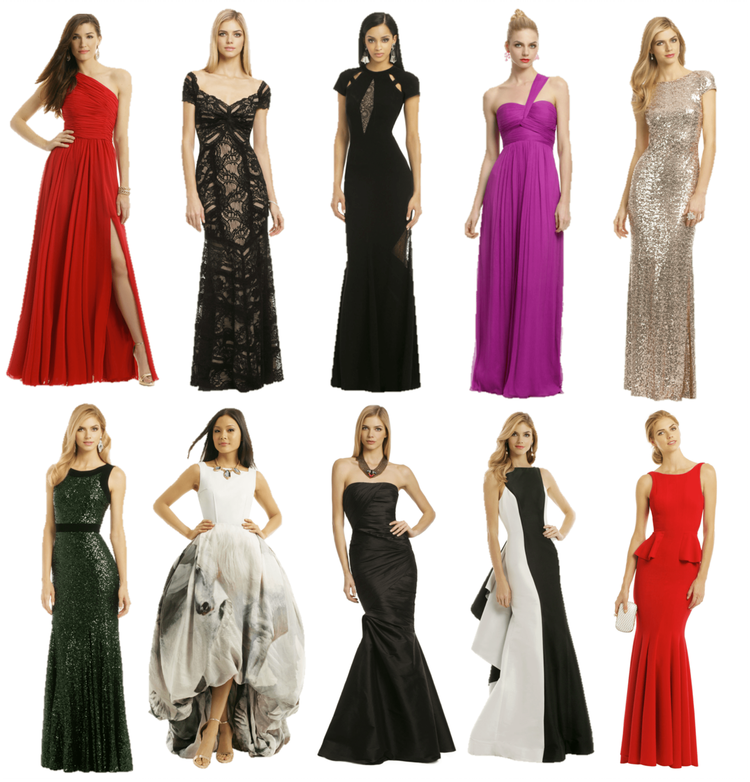 Rent the Runway: Prom Gowns | According to Yanni D
